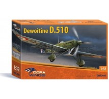 Dora wings - Dewoitine D-510 French Air Force