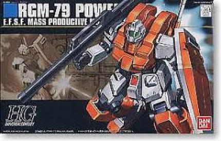 Bandai - HG RGM-79 Powered GM (0145073)