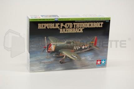 Tamiya - P-47D Thunderbolt Razor.
