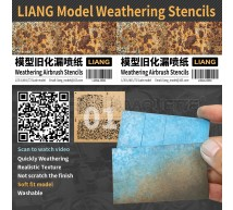 Liang model - Weathering airbrush stencils