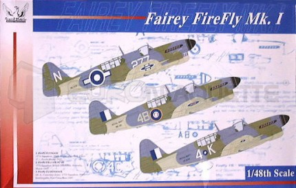 Grand Phoenix - Fairey Firefly Mk I /plaque