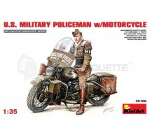 Miniart - MP & Harley WWII
