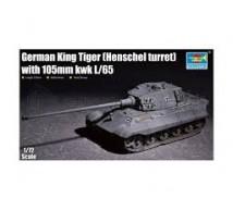 Trumpeter - Kingtiger Henschel turret & 105mm gun