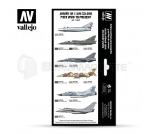 Vallejo - Coffret aviation Francaise 1955/2020