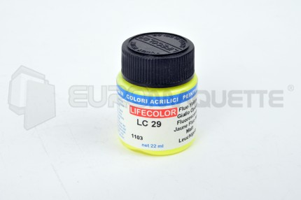 Life Color - Jaune fluo LC29 (pot 22ml)