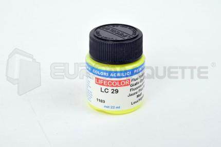 Life Color - Jaune fluo LC29 (pot 22ml)
