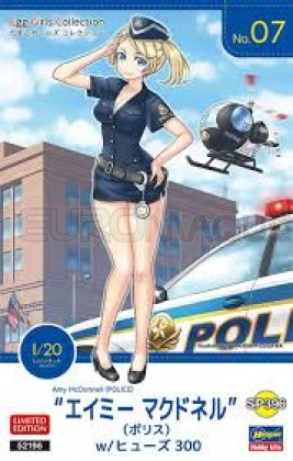 Hasegawa - EGG Girl Police n°7
