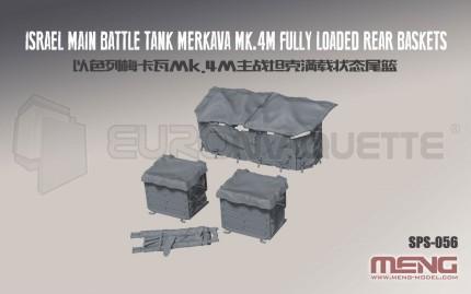 Meng - Merkava M4M rear baskets