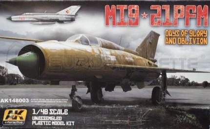 Ak interactive - Mig-21 PFM (Eduard LE)