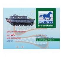 Bronco - Décal LWS Mid Prod