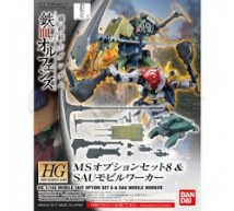 Bandai - HG 1/144 Option set 8 & mobil worker (0212965)