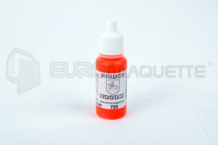 Prince August - Orange fluo 733 (pot 17ml)