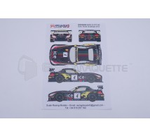 Racing decals 43 - BMW Z4 Baku 2013