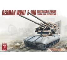 Model collect - E100 & Flak 40 128mm