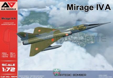 Modelsvit - Mirage IV A