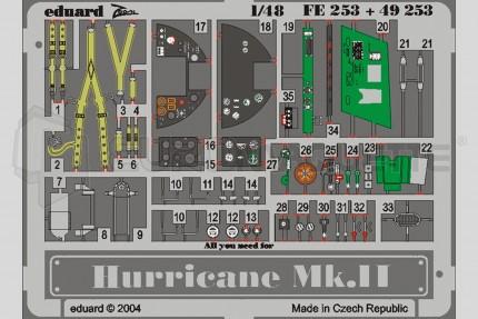 Eduard - Hurricane MkII    (hasegawa)