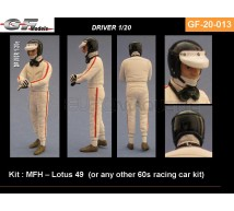 Gf Models - Pilote F1 60