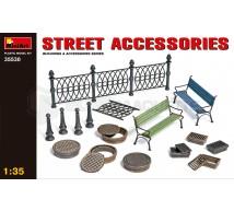 Miniart - Sreet Accessories