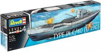 Revell - U Boat Type IX C/40