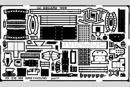 Eduard - M-8 Greyhound (italeri)