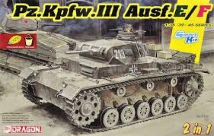 Dragon - Pz III Ausf E/F