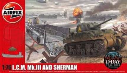 Airfix - LCM-3 & Sherman