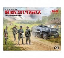 Icm - SdKfz 251/1 & infamtry
