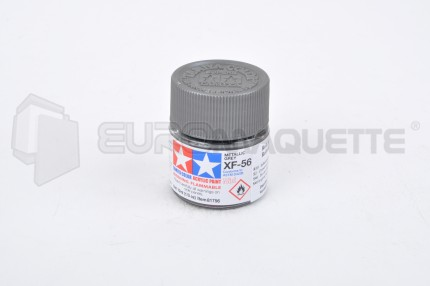 Tamiya - Gris Métal XF-56 (pot 10ml)