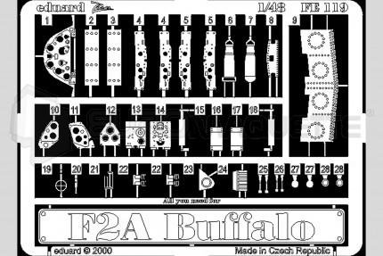 Eduard - F-2A Buffalo  (tamiya)
