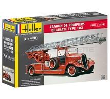 Heller - Delahaye Pompier