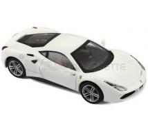 Burago - Ferrari 488 GTB blanche