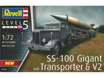 Revell - SS-100 & V2 Transporter