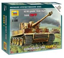 Zvezda - Tigre I 1/100