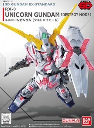 Bandai - SD Gundam Unicorn