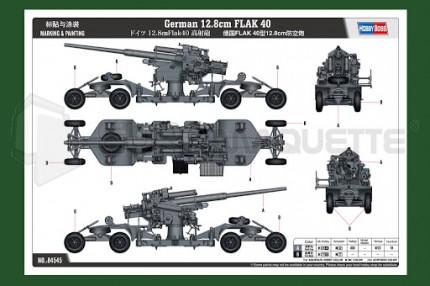 Hobby boss - 12.8cm Flak 40