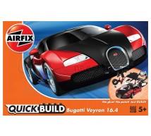 Airfix - Bugatti Veyron rouge Lego