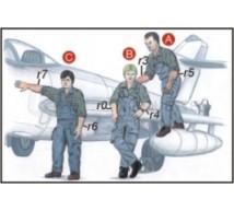 Cmk - Pilote & mécano RN WWII