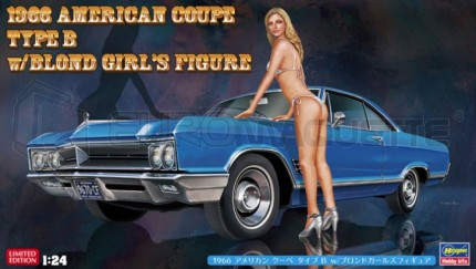 Hasegawa - American Coupe type B & Blond Girl