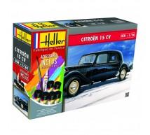 Heller - Coffret Citroen 15cv