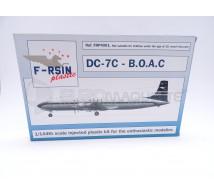 F Rsin - DC-7C BOAC