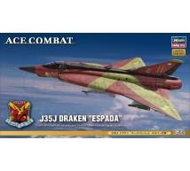 Hasegawa - J35J Draken Espada Ace Combat