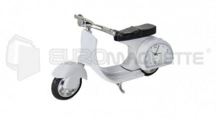 Siva - Scooter horloge blanc