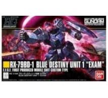 Bandai - HG RX-79BD Blue Destiny 1 EXAM (0216740)