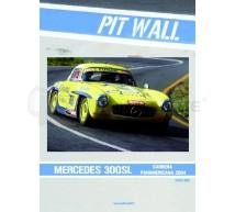 Pit wall - Transkit Mercedes 300SL Panamericana 2004 (Tamiya)