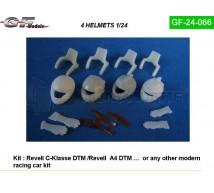 Gf models - Casques DTM & Hans