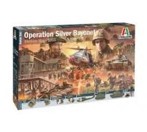 Italeri - Coffret Vietnam Operation silver bayonet