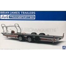 Aoshima - Bian James Car Trailer