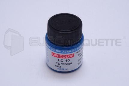 Life Color - Bleu mat LC10 (pot 22ml)