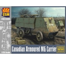 Copper state models - Canadian Armored MG Carrier WWI