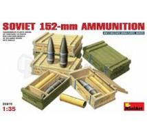 Miniart - Munitions 152mm Russe